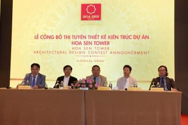 Thi tuyển thiết kế kiến trúc cho Dự án Hoa Sen Tower