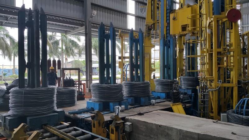 Năng suất cán thép Hòa Phát tăng nhờ cải tiến dây chuyền