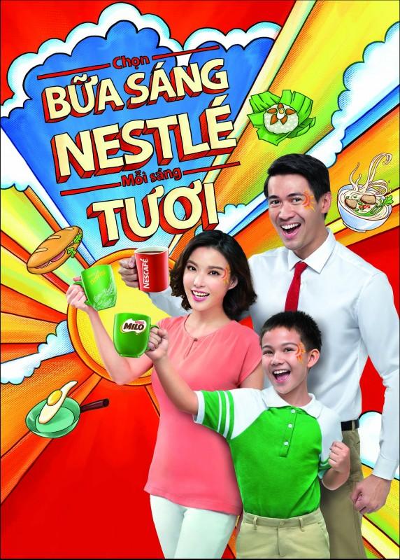 """""""Chọn bữa sáng với Nestlé, mỗi sáng Tươi"""""""