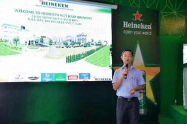 Heineken chia sẻ thương hiệu bia hàng đầu thế giới