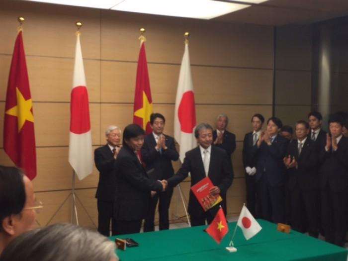 Vietjet ký hợp tác chiến lược với Tập đoàn tài chính ngân hàng hàng đầu Nhật Bản