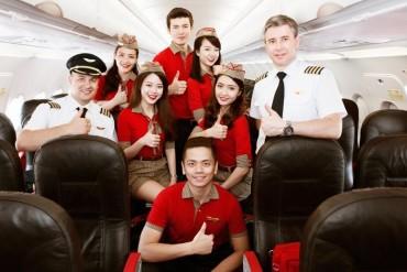 Hàng không Vietjet tuyển tiếp viên