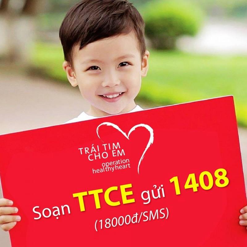 Gửi tin nhắn, giúp trẻ em mắc bệnh tim bẩm sinh