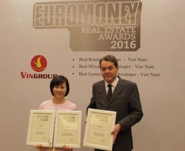 """Vingroup được trao tặng 3 giải thưởng """"Tốt nhất Việt Nam"""""""