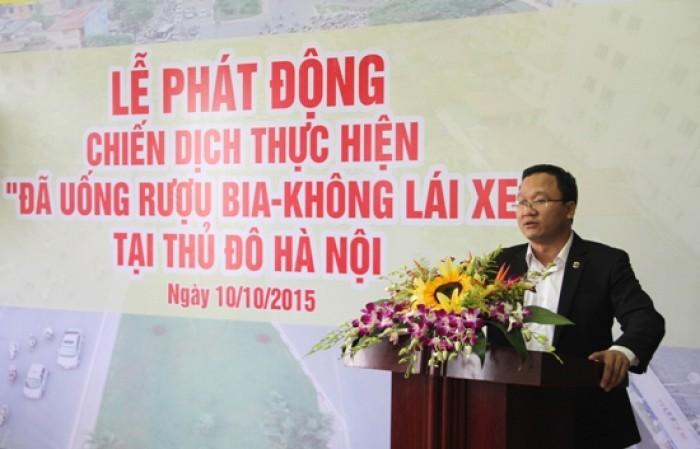 """Hà Nội: Phát động chiến dịch """"Đã uống rượu, bia - Không lái xe"""""""
