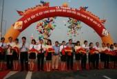 Thông xe nút giao hoàn chỉnh cầu Thanh Trì với Quốc lộ 5