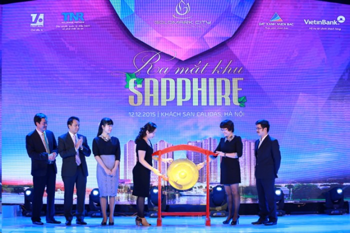 TNR Holdings Việt Nam: Tổ chức Lễ ra mắt khu Sapphire