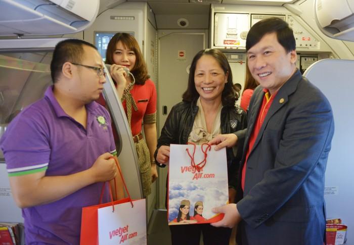 Vietjet tặng 1.500.000 vé giá chỉ từ 68.000 đồng nhân tuần lễ vàng