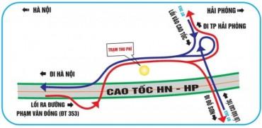 Đi cao tốc Hà Nội - Hải Phòng như thế nào để không bị lạc?
