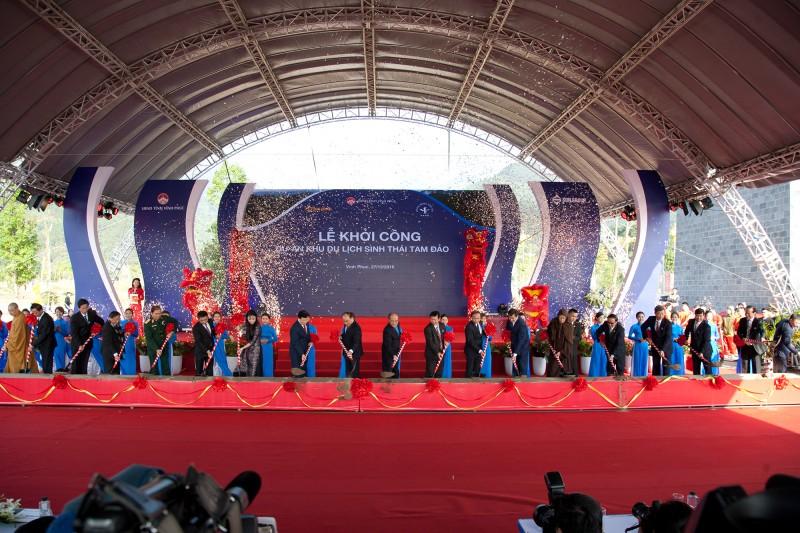 Phát lệnh khởi công dự án Khu du lịch sinh thái Tam Đảo, Vĩnh Phúc