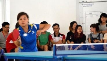 LĐLĐ Quận Nam Từ Liêm: Tổ chức giải cầu lông, bóng bàn cán bộ CNVCLĐ và LLVT