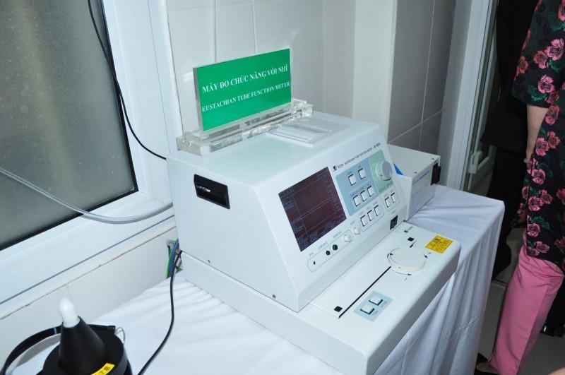 Máy đo chức năng vòi nhĩ - Lần đầu tiên có mặt tại Việt Nam