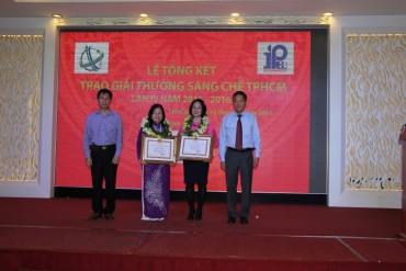 Trao giải thưởng Sáng chế thành phố Hồ Chí Minh lần thứ tư