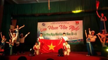 Liên hoan văn nghệ chào mừng ngày nhà giáo Việt Nam 20/11