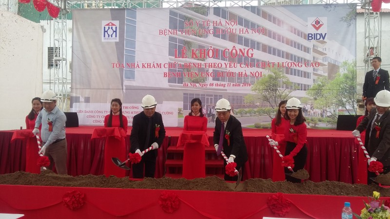 Hà Nội khởi công khu khám chữa bệnh chất lượng cao về ung bướu