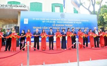 Khánh thành Trung tâm kỹ thuật cao và tiêu hóa Hà Nội
