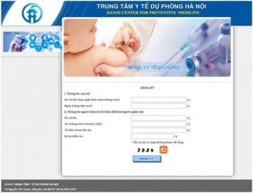 Hướng dẫn đăng ký tiêm vắc xin dịch vụ qua mạng từ 29/12/2105