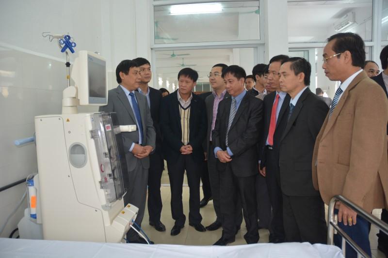 Bệnh viện đa khoa Hà Đông khai trương Điểm chạy thận nhân tạo