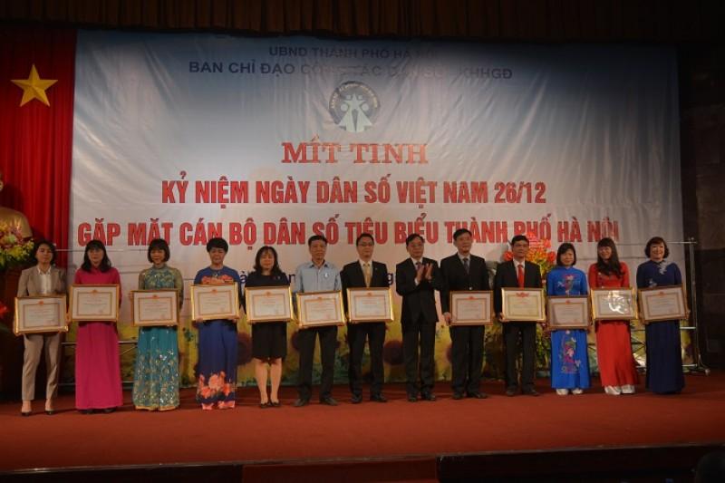 Mít tinh kỷ niệm 55 năm Ngày Dân số Việt Nam (26/12)