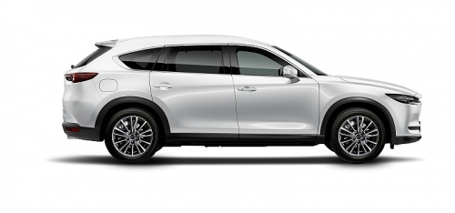 mazda cx 8 deluxe lua chon suv 7 cho duoi 11 ty dong