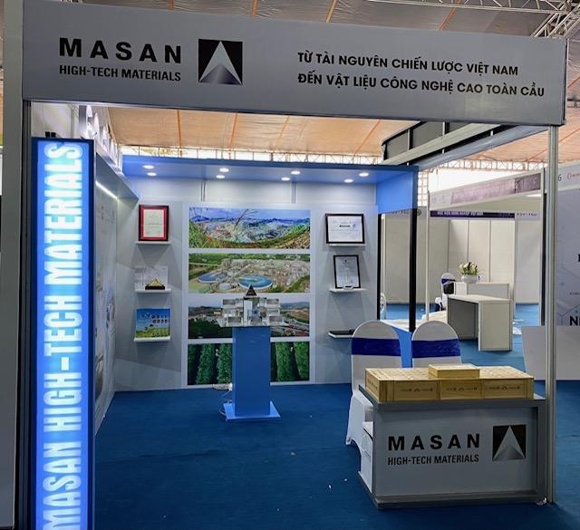 Sản phẩm vật liệu công nghệ cao thu hút sự quan tâm tại triển lãm quốc tế