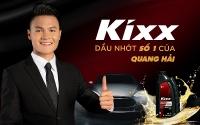 Quang Hải trở thành đại sứ thương hiệu của Kixx tại Việt Nam