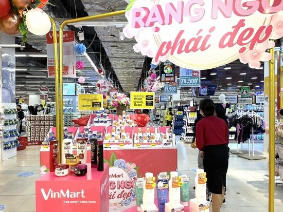 Quốc tế Phụ nữ 8/3 - cùng VinMart chọn quà với ngàn ưu đãi hấp dẫn
