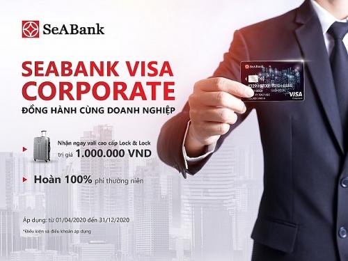 nhan ngay vali sanh dieu khi mo the seabank visa corporate