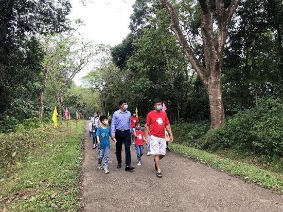 Vườn Quốc gia Cúc Phương an toàn và ấn tượng trong dịp lễ