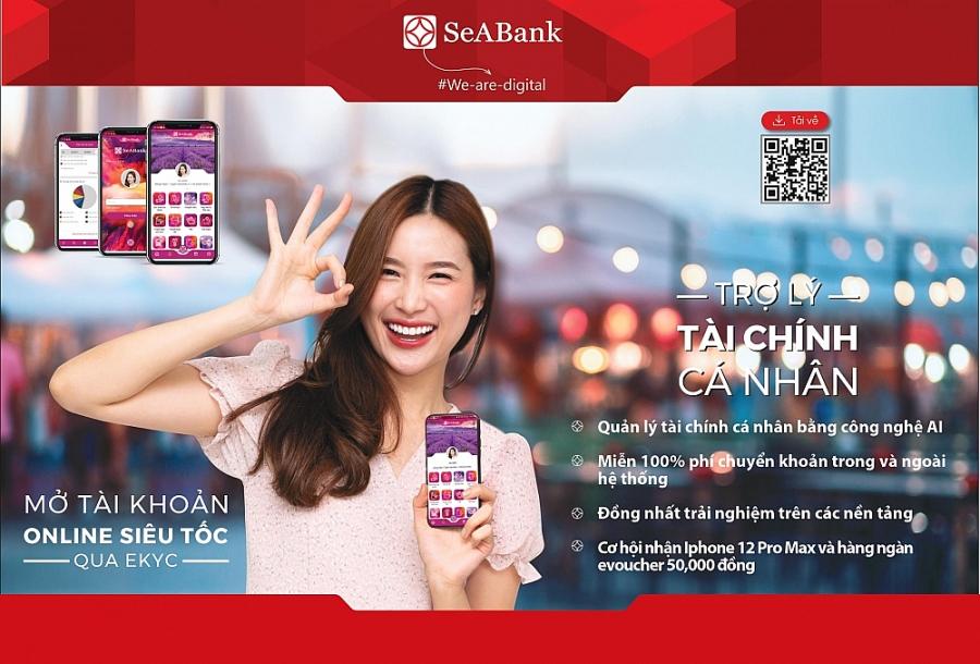 Doanh thu phí dịch vụ của SeABank có bước nhảy vọt ấn tượng trong giai đoạn 2016 - 2020.