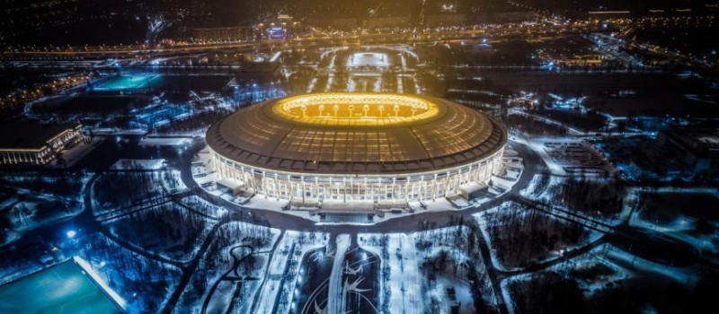 Cùng nhìn ngắm 12 sân vận động tuyệt đẹp sẽ diễn ra vòng chung kết World Cup 2018