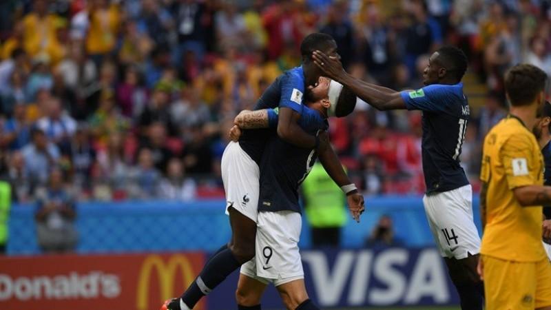 Công nghệ Goal-line giúp tuyển Pháp giành thắng lợi sát nút trước Australia