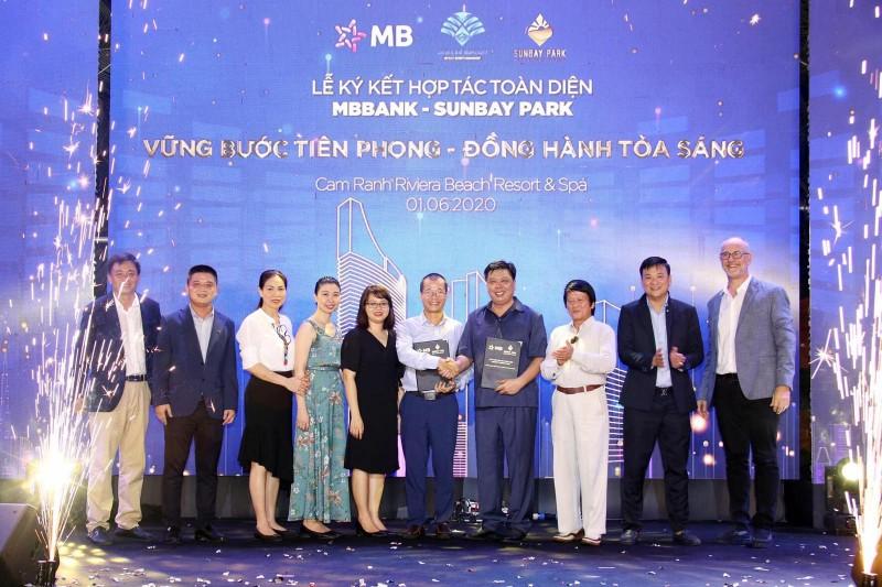 MB hợp tác toàn diện cùng dự án BĐS du lịch SunBay Park Hotel & Resort Phan Rang