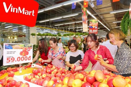Đại sứ New Zealand quảng bá Lễ hội trái cây tại VinMart