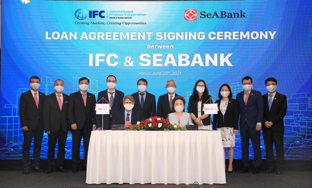IFC hợp tác với SeABank mở rộng tiếp cận tài chính cho doanh nghiệp vừa và nhỏ