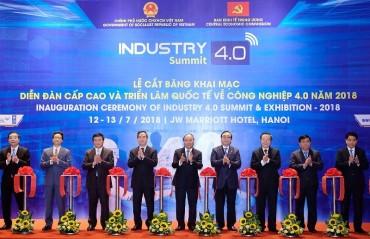 Khai mạc Diễn đàn Cấp cao và Triển lãm quốc tế về Công nghiệp 4.0