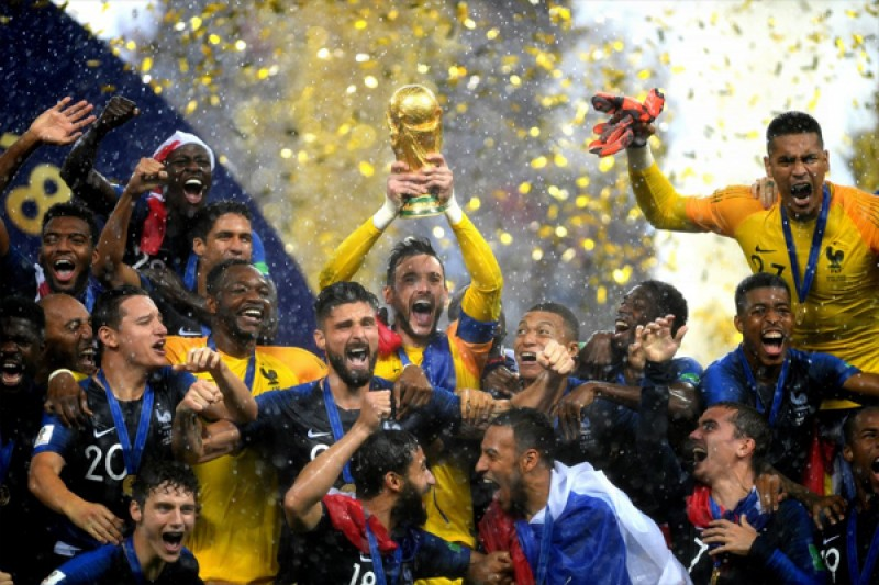 Đả bại Croatia, Pháp trở thành đương kim vô địch World Cup 2018