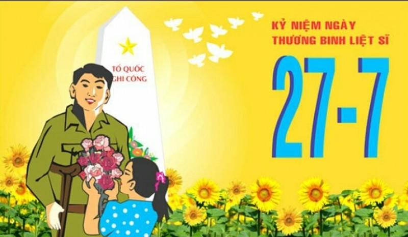 Tổ chức Kỷ niệm 71 năm Ngày Thương binh - Liệt sĩ