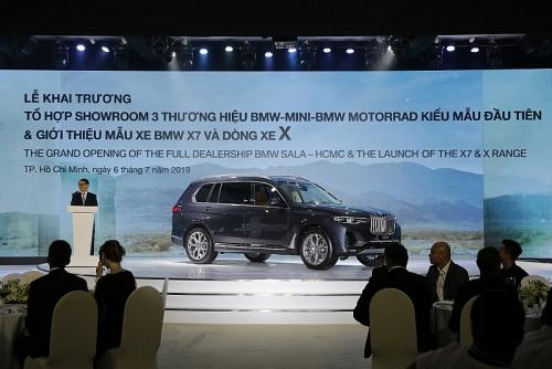 Khai trương Tổ hợp Showroom 3 thương hiệu BMW-MINI-BMW MOTORRAD SALA