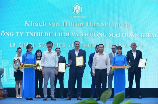 Hilton Hà Nội Opera được vinh danh là khách sạn được yêu thích nhất