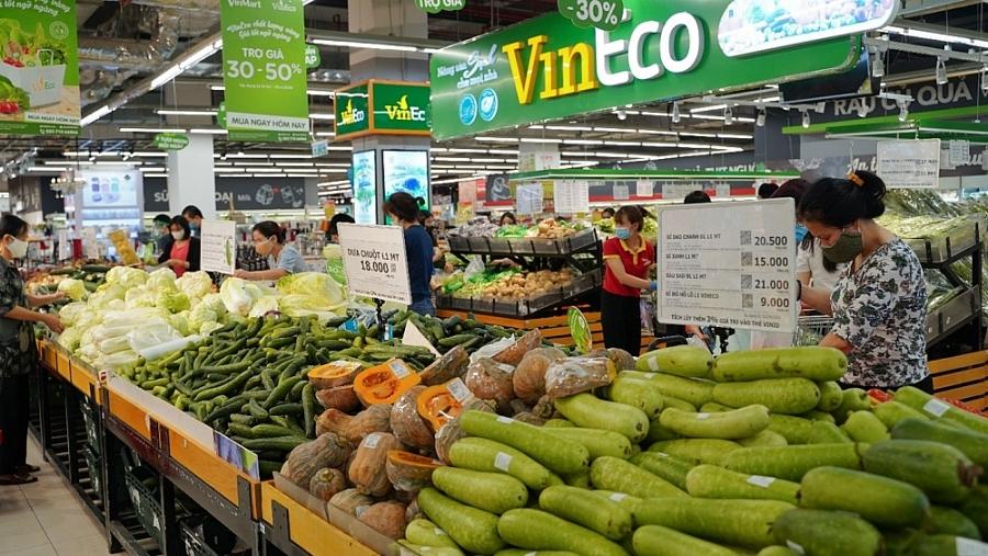 Chợ truyền thống đóng cửa, siêu thị nỗ lực đảm bảo chuỗi cung ứng hàng hóa