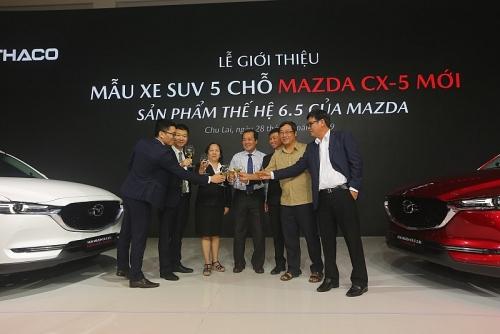 Tập đoàn Thaco chính thức giới thiệu Mazda CX-5 mới - mẫu xe SUV 5 chỗ cao cấp