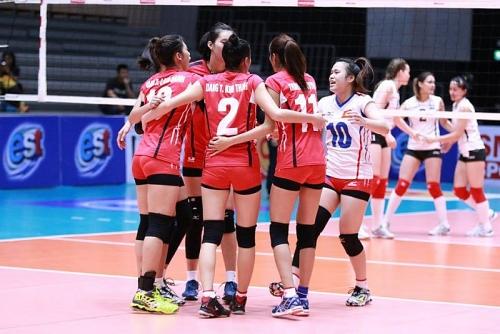 Tuyển bóng chuyền nữ Việt Nam dành thắng lợi ngọt ngào trong trận đầu ra quân