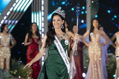 Lương Thùy Linh - Người đẹp vùng cao đăng quang Miss World Vietnam 2019