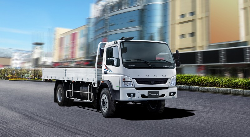 Thaco giới thiệu dòng sản phẩm Mitsubishi Fuso Canter