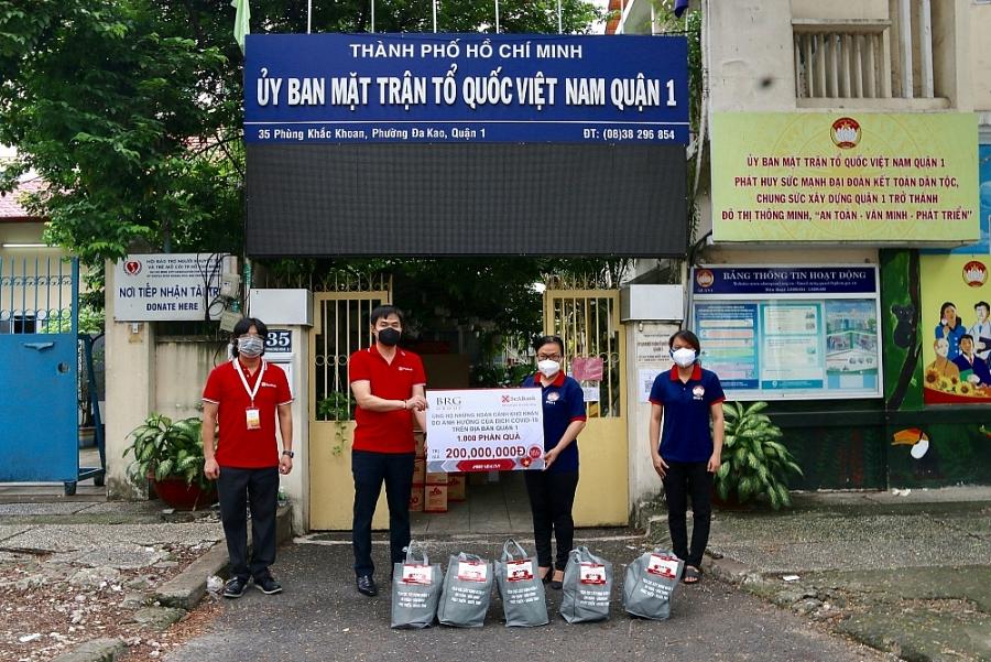 Tập đoàn BRG cùng Ngân hàng SeABank chung tay hỗ trợ chính quyền và người dân TP. Hồ Chí Minh