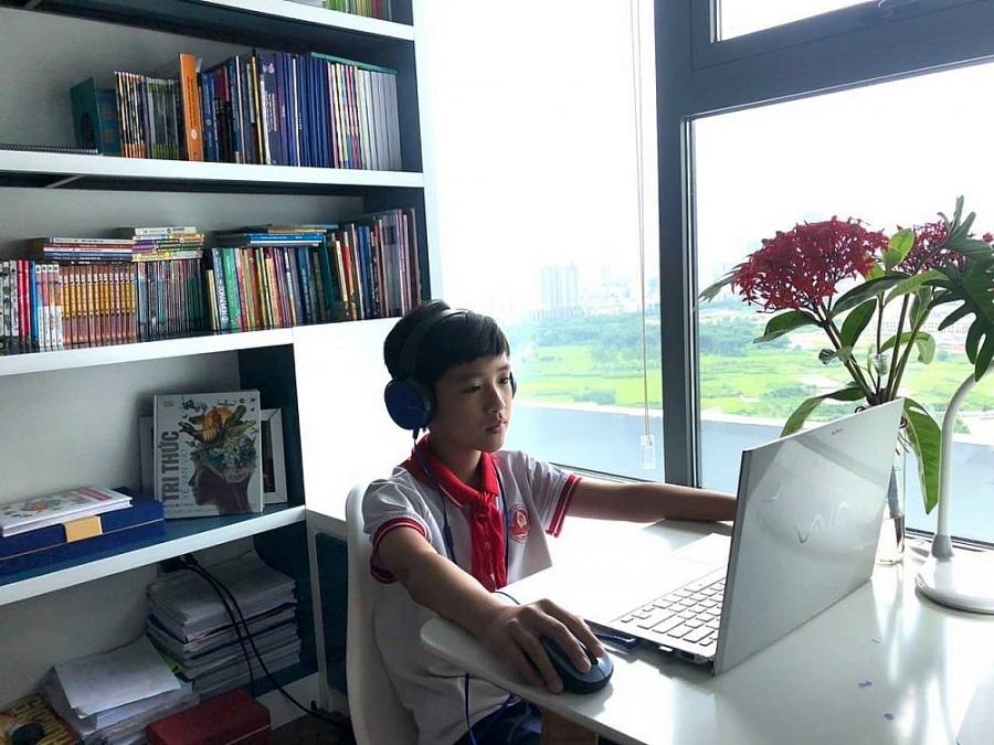 Trường Tiểu học Dịch Vọng A tổng kết năm học trực tuyến: Đảm bảo an toàn và ý nghĩa