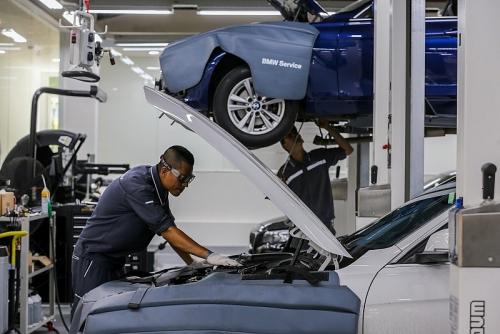 Chuyên gia hơn 20 năm kinh nghiệm với BMW sẽ giúp khách hàng chăm sóc xe