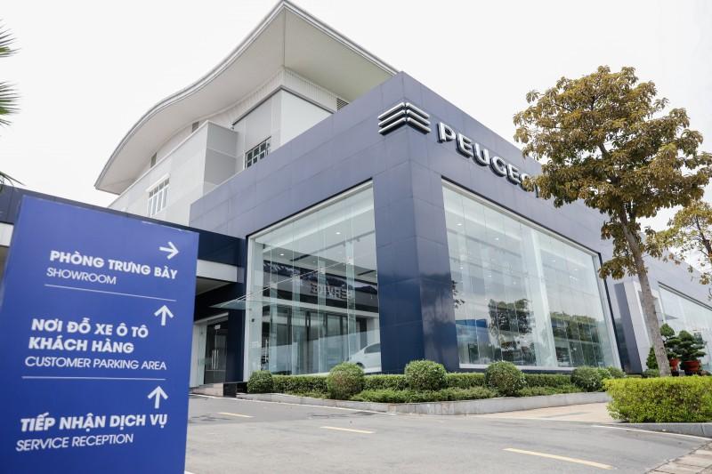 Hệ thống showroom Peugeot chuẩn 3S toàn cầu tại Việt Nam