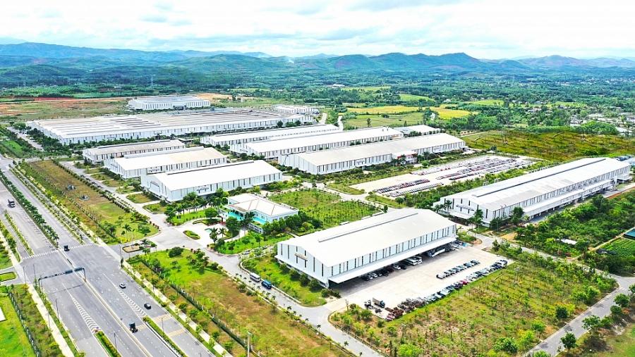 1. KCN sản xuất linh kiện phụ tùng và cơ khí Thaco
